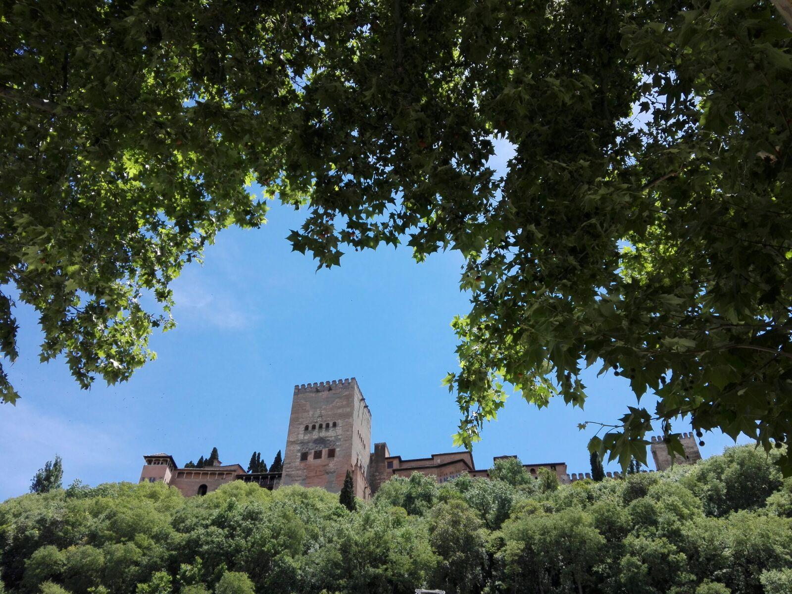 Vistas de la Alhambra desde el Albayzín. Alhambra y Albayzín