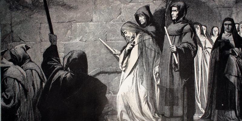 Emparedamiento. Castigos de los cristianos