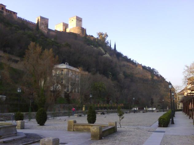 Paseo de los Tristes. Granada