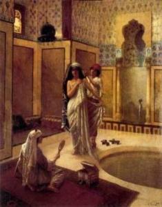 Los rituales en la Al - Ándalus, El ritual del baño.